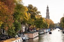 Stadsbeeld Van Amsterdam, Cityscape Of Amsterdam