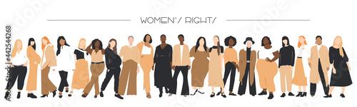 Fotografía Women's rights banner