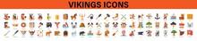 Vikings Icons. Vikings Icons Set.