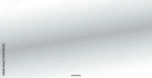 Obraz na plátně Abstract warped Diagonal Striped Background