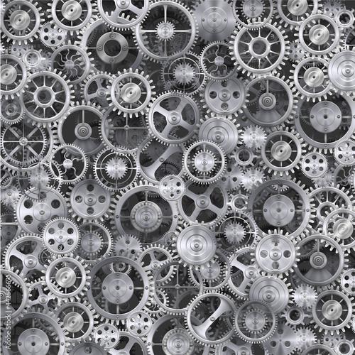 Tapety Industrialne  metalowe-realistyczne-tlo-kola-zebatego
