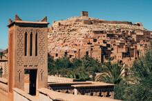 Old Stone Constructions Amid Desert