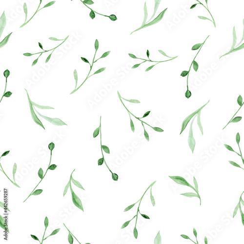Tapety SHABBY-CHIC  wzor-z-kwiatow-i-lisci-recznie-rysowane-kwiatowy-wzor-na-tapete-lub-tkanine-kwiaty-i-liscie-tekstura-tlo