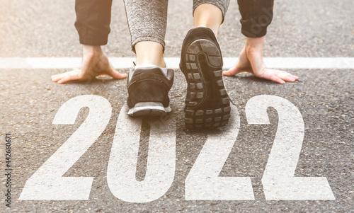 Fotografie, Obraz Sneakers close-up, finish 2021