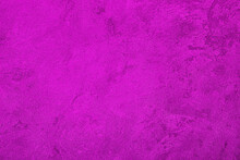 Texture Of Purple Decorative Plaster Or Concrete. Abstract Grunge Background.