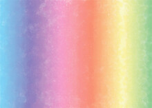 Watercolor Background With Rainbow Colors.