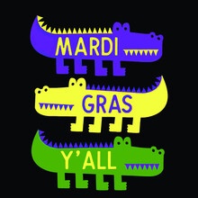 New Orleans Mardi Gras Gator Carnival Costume Womens Logo Vector Template Illustration Graphic Design Design For Documentation And Printing