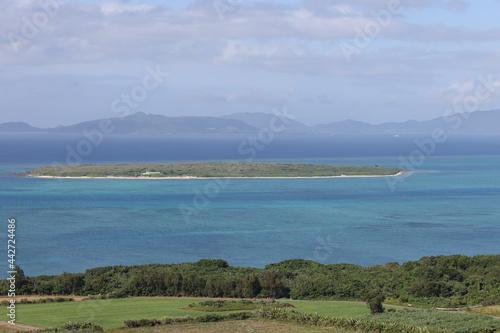 Fotografie, Obraz 小浜島から望む嘉弥真島
