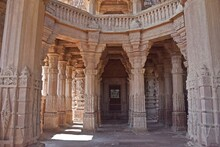 Group Of Temple In The Mandore Garden,Jodhpur,rajasthan,india,asia