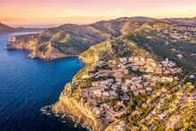 Sunset In Andratx Bay, Mallorca, Spain