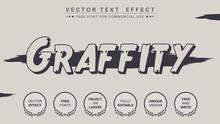 Dark Graffti - Edit Text Effect, Font Style