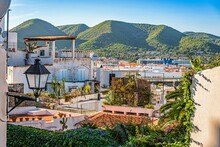 View Of The City Of Elvissa, Ibiza, Spain