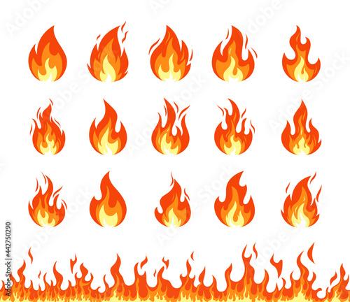 Fotografie, Obraz Fire icon