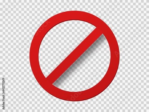 Wallpaper Mural Banned icon template