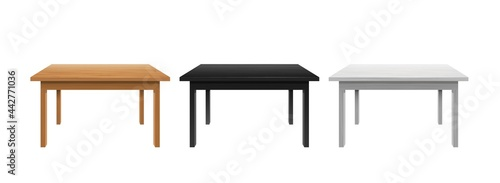 Fotografering Writing and office tables template