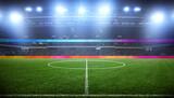 Fototapeta Dmuchawce - Fussball Stadion