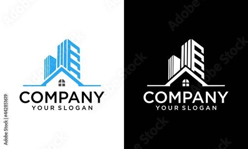 Tela real estate , building architecture premium logo design