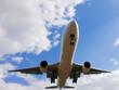 飛行機の接近