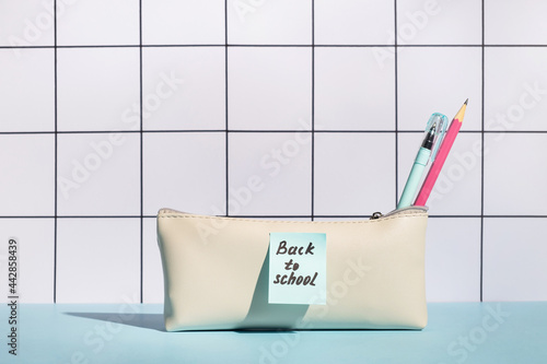Canvas Print Back to school concept