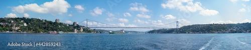 Fotografia Istanbul - Turkey - 07.16.2021: Bosphorus Bridge