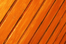 Brown Planks Are Arranged Diagonally, Planks Background, Brown Background, Fences Or Walls Made Of Wood.