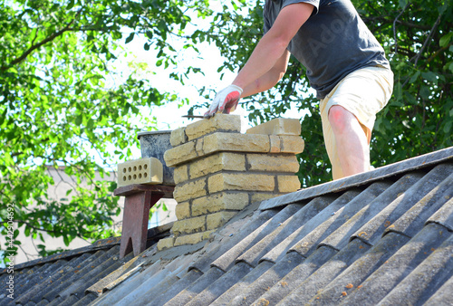 Canvas Chimney construction and re-building