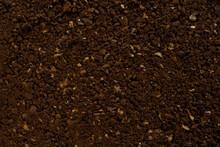 Ground Coffee Close-up Back Ground