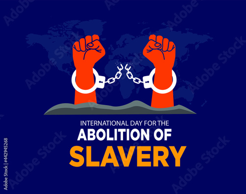 Canvas Print International Day for the Abolition of Slavery