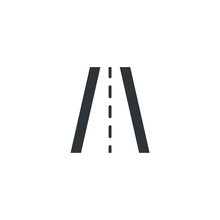 Isolated Road Sign Icon, Vector Illustration