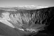 Meteor Crater In Death Valley