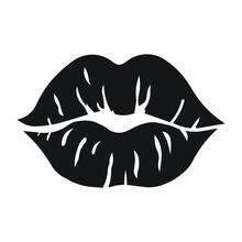 Lips Vector Icon