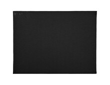 Blank White Canvas On Stretcher Isolated