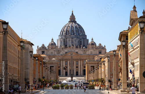 Canvas St Peters Cathedral Vatican city