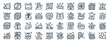 Linear Pack Of Sauna Line Icons. Linear Vector Icons Set Such As Ying Yang, Drop, Sandal, Lotus, Sauna, Lotus. Vector Illustration.