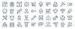 linear pack of videogame elements line icons. linear vector icons set such as helmet, medallion, padlock, scepter, crystal meth, plant. vector illustration.