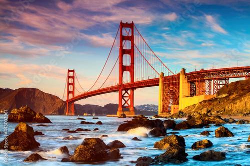 Valokuvatapetti Golden Gate Bridge, San Francisco