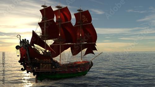Obraz na plátně 船