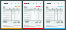 Business Invoice Form Template. Bill Form Business Invoice Accounting