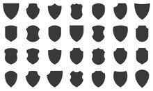 Shield Icons Collection. Protect Shield Vector