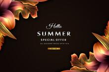 Luxury Summer Big Sale Prices Banner