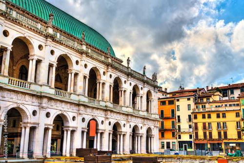 Fotografiet Basilica Palladiana in Vicenza, Italy