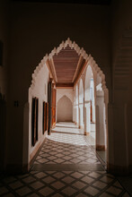 Arched Passage Of Arabic Building