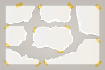 Realistic Torn Paper Set_2