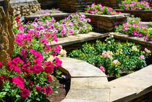 Landscape Design Of Nice Home Garden In Summer