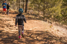 Kids And Camping Life Stream Nature