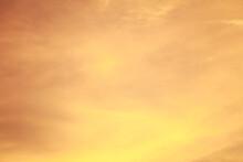 Abstract Background Orange Sky, Fiery Orange Sunset Sky