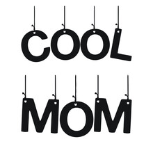 Cool Mom Art Mom Art Promoted To Mom Design Vector Illustration For Use In Canvas Poster Design