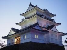 Illuminated And Night View Of Odawara Castle