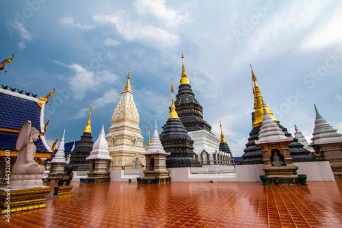 Tela Wat Ban Den, Chiang Mai Province is beautiful.
