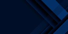 Blue Abstract Background Elegant Stripe 3d Shapes